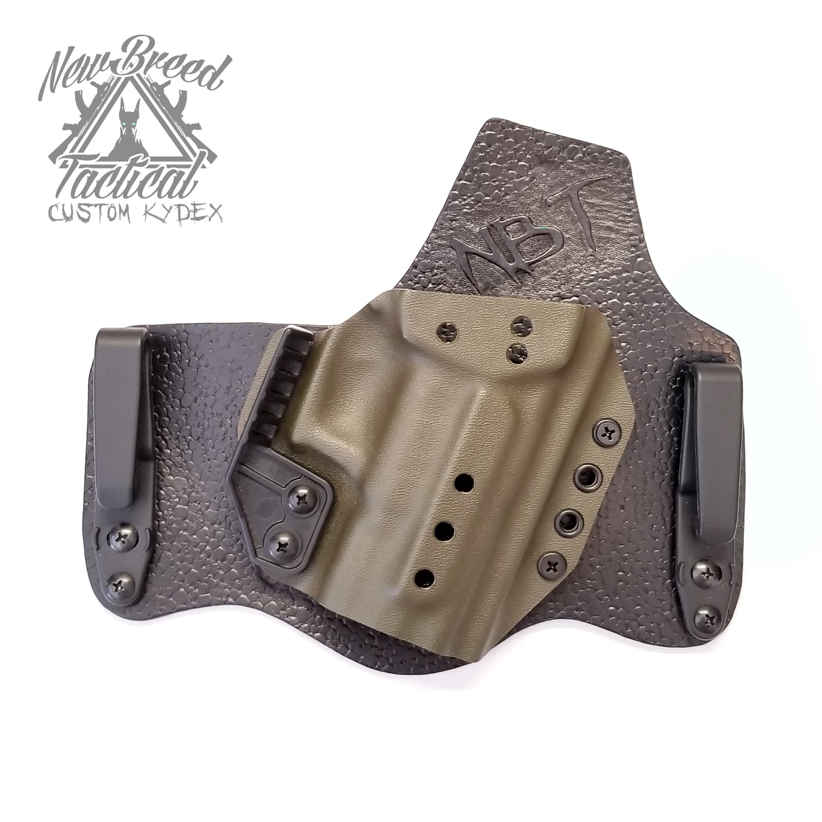 Halfbreed Kydex/Leather Hybrid IWB Holster